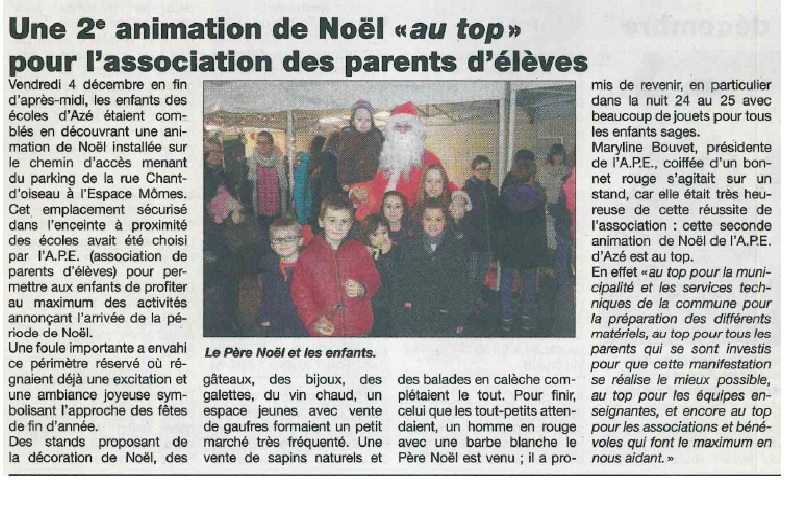 Article marche de noel